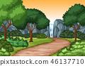 waterfall nature scenic 46137710