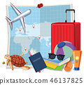 travel element set 46137825
