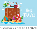 suitcase travel vacation 46137828