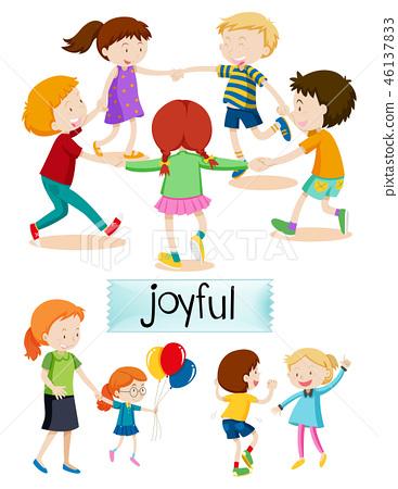 Group of joyful people 46137833