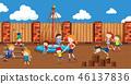 people, play, playground 46137836