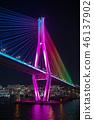เกาหลีใต้,ประภาคาร,ภาพถ่ายอาคารช่วงค่ำ 46137902