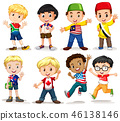 Set of international boy 46138146