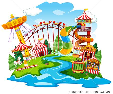 A fun park landscape 46138189