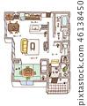 Dwelling House, home, house 46138450