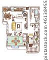 Dwelling House, home, house 46138455