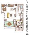 Dwelling House, home, house 46138457