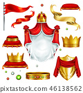 royal, crown, vector 46138562