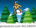 snowboard, snow, mountain 46138604