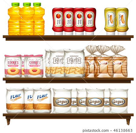 Food item on shelf 46138663