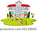 football, school, soccer 46138666