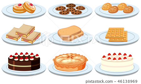 Set of different foods 46138969