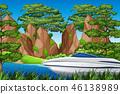 ต้นไม้,ธรรมชาติ,เรือสปีดโบ๊ท 46138989