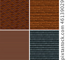A set of brick wall background 46139029