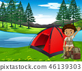 forest, camp, camping 46139303