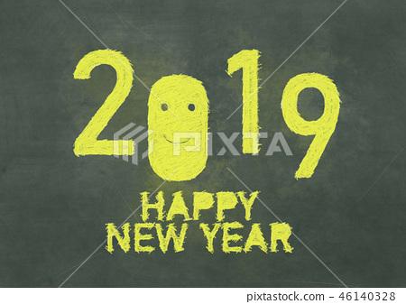 2019 HAPPY NEW YEAR 46140328