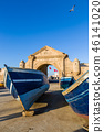 Morning in the old fishing port of Essaouira 46141020
