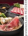 寿喜烧 食物 食品 46141639