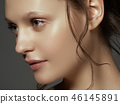 Beauty Brunette Woman with Perfect Makeup. Beauty  46145891
