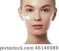 beauty model face 46146989