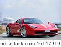 紅色豪華跑車 46147919