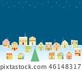 거리 크리스마스 별 46148317