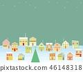 거리 크리스마스 별 46148318