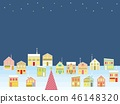 거리 크리스마스 별 46148320
