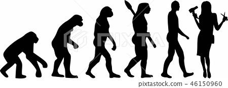 Hairdresser Evolution 46150960