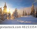 winter snow mountain 46153354