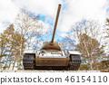 Soviet tank T-34 of the World war II, Kezmarok 46154110