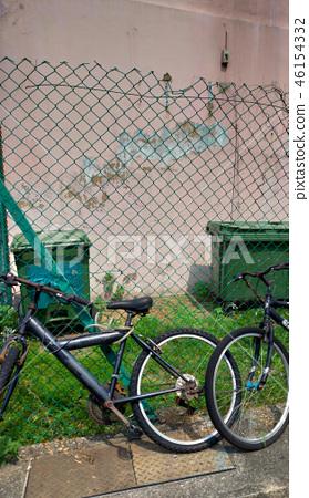 Street Corner Bicycle Fence Recycle Bin Street corner Bicycle 46154332