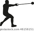 hammer, throw, athlete 46156151
