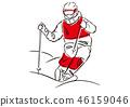 自由式滑雪 46159046