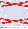 vector, sale, ribbon 46162092
