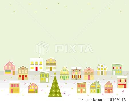 城市景觀聖誕星 46169118