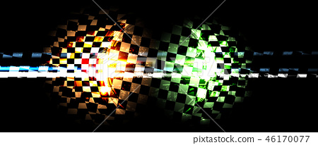 Racing speed background vector abstraction in car 46170077