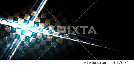 Racing speed background vector abstraction in car 46170079