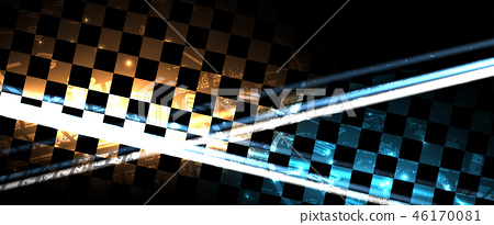 Racing speed background vector abstraction in car 46170081