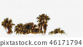 Los Angeles palm trees painting 46171794