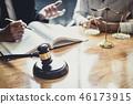 กฎหมาย,ทนาย,ห้องพิจารณาคดี 46173915