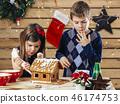 christmas, child, boy 46174753