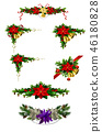 Christmas elements for your designs 46180828