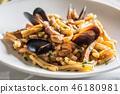 pasta, seafood, shellfish 46180981