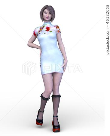 Asian girl 46182058