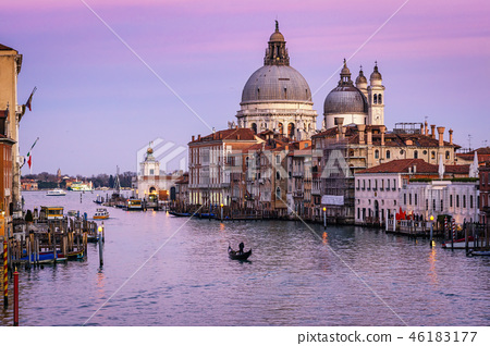 Sunset over Venice 46183177
