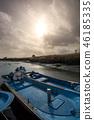 boats in wetland 46185335