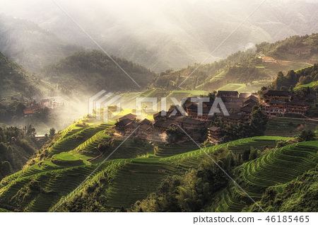 longji rice terrace 46185465