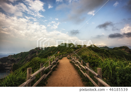 Cape Kamui in Shakotan vertical 46185539