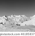 mountain, snow, ski 46185837